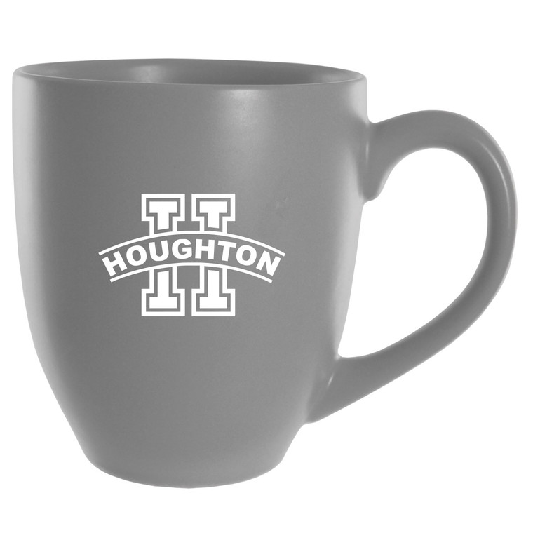 Houghton Grey Solid Bistro Mug