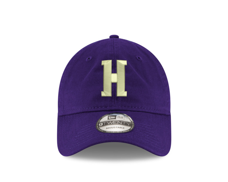 Houghton Purple Hat with H