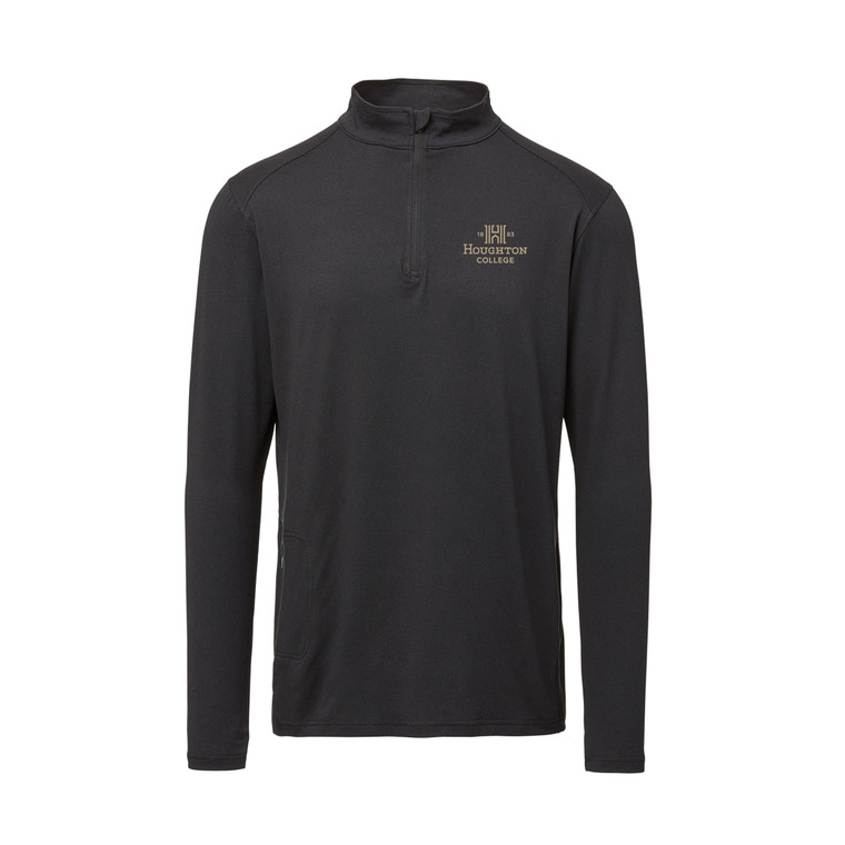 Houghton College Ultra Lux Quarter-Zip Long Sleeve