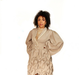 St. Lawrence Market Ruched Blazer Dress