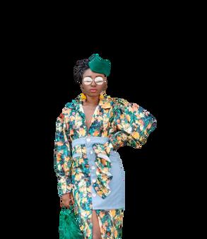 Maple Leaf Tunic Dress