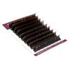 Brown Black Ombre Color Lashes