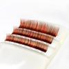 Auburn Mix Color Lashes
