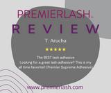 Phenomenal review on the PremierLash Supreme Lash Adhesive, 5 & 10 ml.