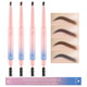 Duo Brow Pencil & Brush in 4 Colors