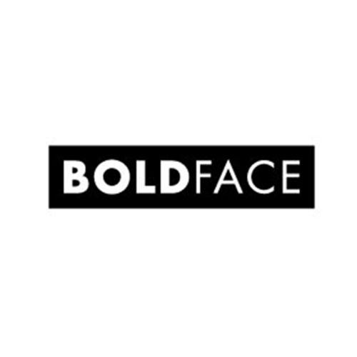 Brand Ambassador: BOLDFACE