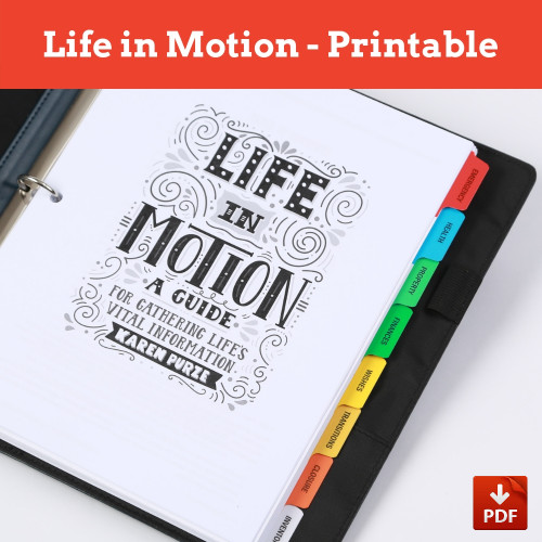 Life in Motion Guide Printable PDF