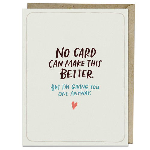 Emily McDowell No Card Can Make This Better Empathy Card