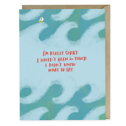 Emily McDowell Didn't Know What to Say Empathy Card