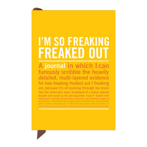 Knock Knock I'm So Freaking Freaked Out Mini Journal