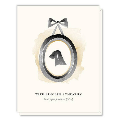 Driscoll Design - Dog Pet Sympathy Card
