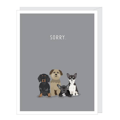 Sorry for your loss - pet dog sympathy card by Apartment 2 Cards