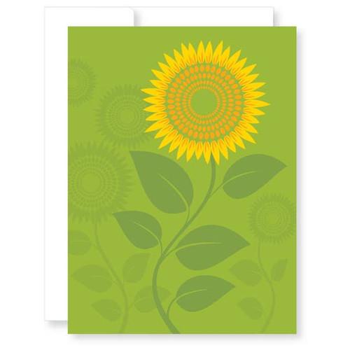 Colorful, modern friendship encouragement card.