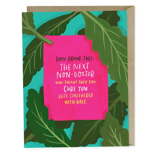 Smothered with Kale Empathy Card by Emily McDowell