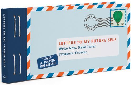 Letters to My Future Self... Lea Redmond Time Capsule Letter Book