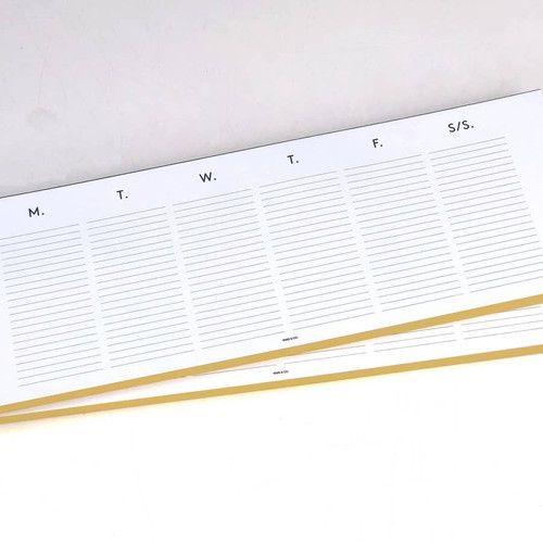 Keyboard planner pad by  Wms. & Co.