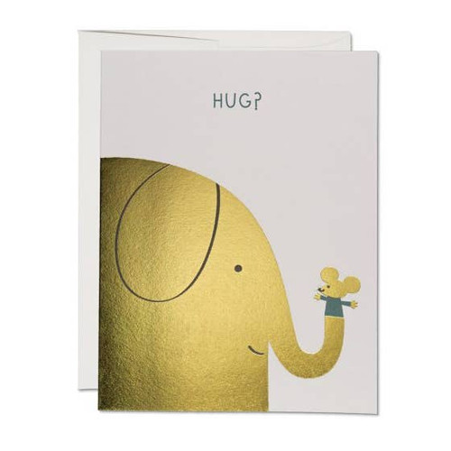 Elephant Hugs card by Red Cap Cards
