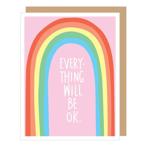Everything Will Be OK Card by Apartment 2 Cards