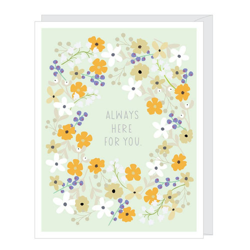 Always Here for You Card by Apartment 2 Cards
