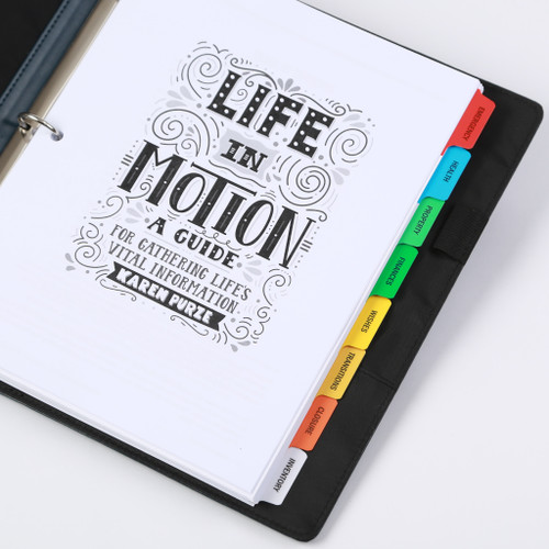 Life in Motion Guide - tabs
