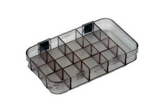 Plastic Storage Box only, 17 Compartment