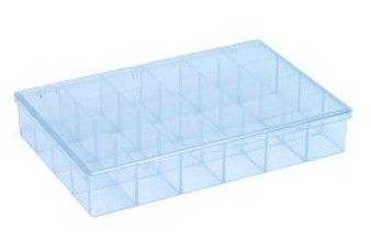 Plastic Box Only, 24 Compartment