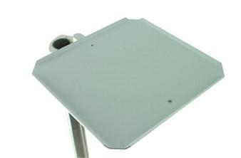 2'' Post or H-Frame Mount Utility Shelf (white)
