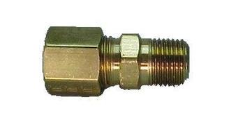 Compression 1/4'' Tube x 1/8'' MPT Straight