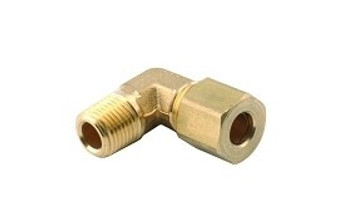 Compression 1/4'' Tube x 1/8'' MPT Elbow