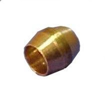 1/4'' Compression Female Brass Sleeve (pkg of 10)