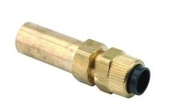 1/4'' Poly x 3/8'' Compression Tubing (A-dec #022.041.00)
