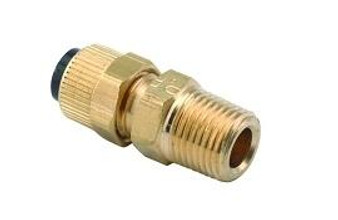 3/8'' Poly x 3/8'' MPT Male Fittings