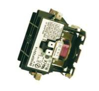 24 Volt AC Coil - 30 amp contact rating, 1.5 HP rating, Double pole contacts, Replaces most contactors