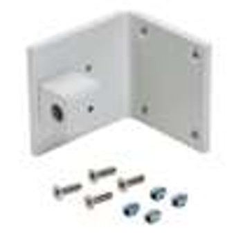 """Under Counter Surface Mount Bracket, Accepts 1/2"""" OD Pin (Gray)"""