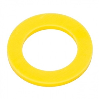 Air Indicator Washer for 1/4'' Q.D. (Yellow) (Pkg of 10)