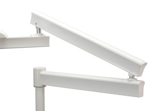 Post Mount Flexible Arms - 34'' Horizontal Reach (Gray)