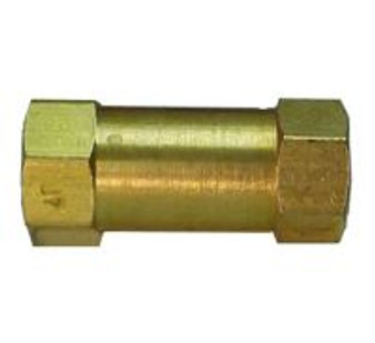 Check Valve, 1/8'' FPT (For use with non-retraction water systems)