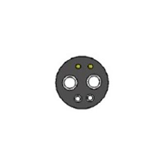 Autoclavable HP Gasket, 6 Hole - Black for 8773 Lamp Module