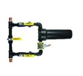 Water Security System 1'' w/Filter & 24 Volt Relay, Filters incoming water supply & shuts off water from control panel