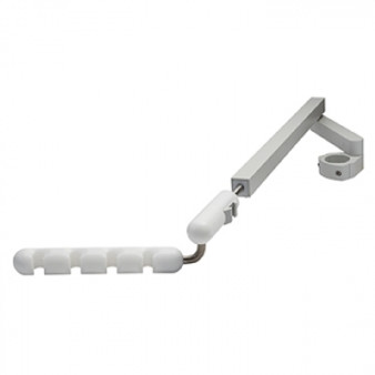 4 Position Telescoping Assistant's Arm Holder, White