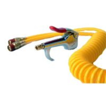 Blow Gun with 10 ft Coil Tubing