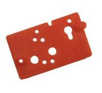 ''Red'' A-dec Century Plus Scaler Block Gasket, (A-dec® #38.0550.01) (Pkg/5)