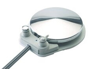 Wet/Dry & Chip Blower Disc-Type Foot Control w/o Signal Relay, 4-Hole Lt Sand Tubing