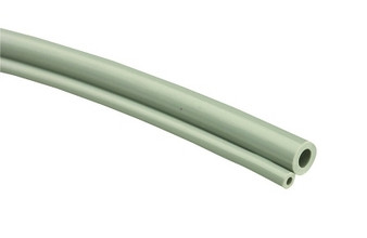 Feet of Straight Standard 2-Hole Handpiece Tubing (Gray)