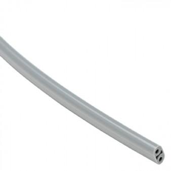 100 ft. Box Asepsis 2-Hole Syringe Tubing (Gray)