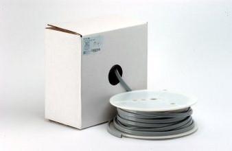 Feet of Straight Asepsis 2-Hole Foot Control Vinyl Tubing (Gray)