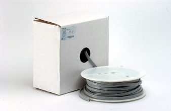 100 ft. Roll Asepsis 2-Hole Foot Control Vinyl Tubing (Gray)