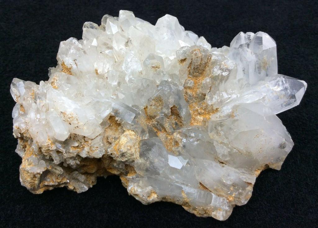 Clear Quartz Crystal Cluster 4oz #22 Mineral Specimen Decor