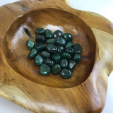 One (1) Tumbled Green Fuchsite Healing Crystal Metaphysical Mineral