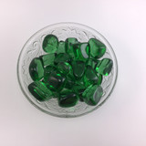 One (1) Tumbled Green Obsidian Healing Crystal Metaphysical Mineral
